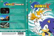 Sonic X Volume 10 AUS full cover