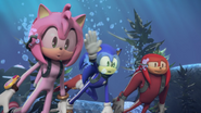 S2E07 Amy Sonic Knuckles