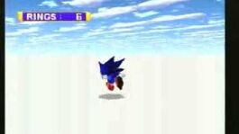 Sega Saturn - Sonic Jam Sonic World bounds glitch