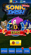 Sonic Dash Espio Character Select Price