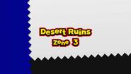 Desert Ruins A3 Title Card