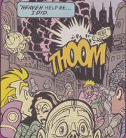 Megapolis explosion