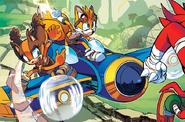 Tornado Sonic Boom comic
