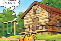 Tails Cocoa Workshop Archie Comic
