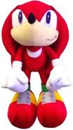 Knuckles plush toy