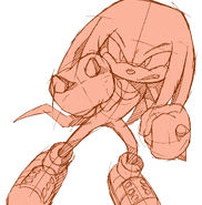 Wallpaper 065 knuckles 05 pc