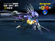 Metal Overlord ATTACK crystal attack 1