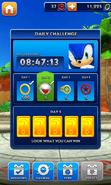 Sonic Dash Daily Challenge