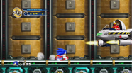 Flying Eggman in Egg Station HD