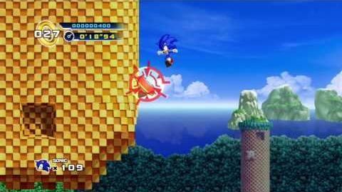 Sonic the Hedgehog 4 Episode 1 - Splash Hill Zone