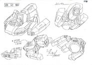Sonic X concept art Hornet