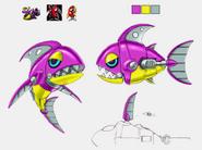 Chopper concept art colors