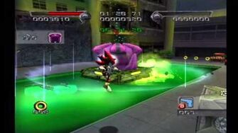 Shadow the Hedgehog Stage 4-1 Central City (Dark Mission no com)