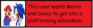 Userbox Mario Sonic Adventure