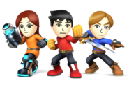 SSB4 Mii Fighters