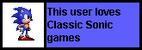 Userbox- Classic Sonic