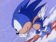 Sonic snowboarding