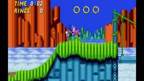 Sonic the Hedgehog 2 Hill Top Act 1