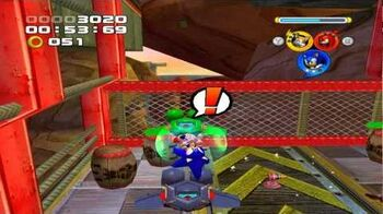 Sonic Heroes Rail Canyon Super Hard