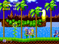 Sonic 1 Goal Plate