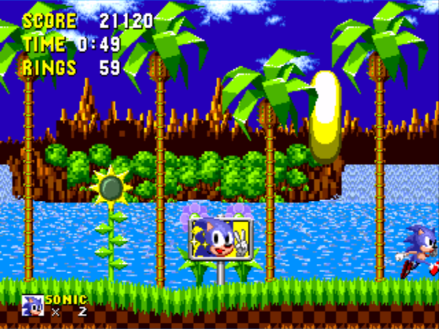 File:Sonic 1 Goal Plate.png