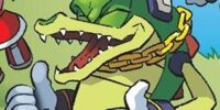 Vector the Crocodile (In Another Time, In Another Place)