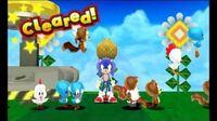 Sonic Lost World (3DS) - Zavok laser collision glitch (Sky Road Z4)