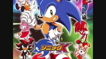 Sonic Drive- Sonic X Theme Song (Japanese, Full Version)