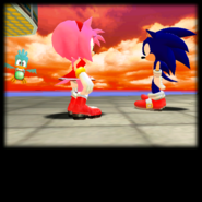 Sonic Adventure Credits (Amy 03)