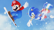 Mario & Sonic at the Olympic Winter Games - Opening - Screenshot 39