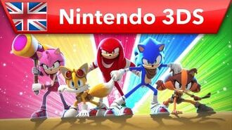 Sonic Boom Fire & Ice – Trailer (Nintendo 3DS)