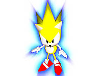 File:Sonic R artwork Super Sonic.png