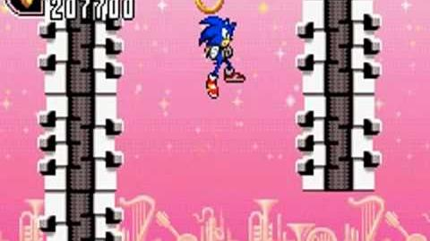Sonic Advance 2 (GBA) Music Plant Zone