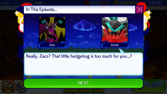 File:Sonic Runners Zazz Raid event Zavok Cutscene (4).png