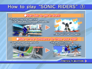 Sonic Riders PS2 Trial Instructions 1