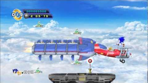 Sonic 4 Episode 2 - Sky Fortress Act 1