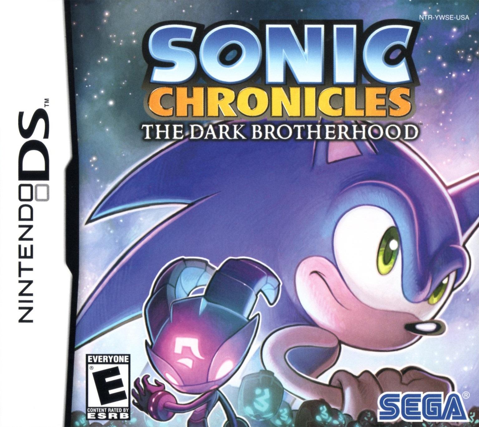 Sonic Chronicles: The Dark Brotherhood box art