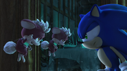 NOTHW Angry Sonic
