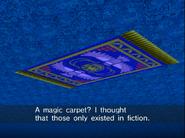 Magic carpet in action