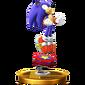 Trophy 611 - Sonic (Alt.) (SSB for Wii U)
