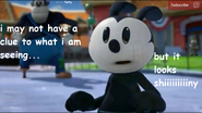 Oswald Sees Something