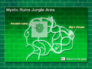 Mystic Ruins Jungle Area map