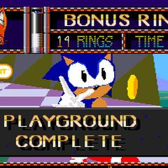 La primera prueba de animación creada por el precursor de Sonic X-treme, Sonic Mars.