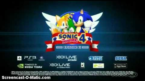 Sonic 4 Episode 2 - Desert Zone & Episode Metal Trailers
