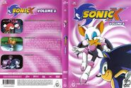 Sonic X Volume 6 AUS full cover