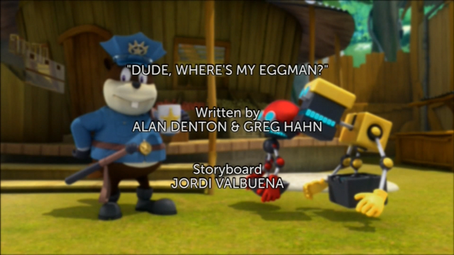 File:Dude, Where's My Eggman titlecard.png