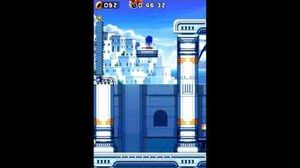 DesMuMe Sonic Rush Water Palace Act 2 - Sonic, 1080p 60 FPS