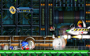 Flying Eggman Sonic the Hedgehog 4 Episode 1 2
