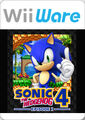 Sonic 4 Wii box