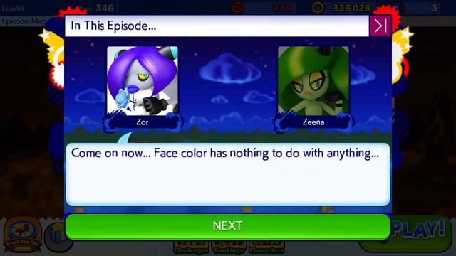 File:Sonic Runners Zazz Raid Event Zeena Zor Cutscene (5).png